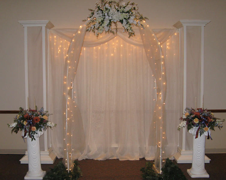 Decorated wedding arch this Wedding Arch Reception wedding ceremony arch