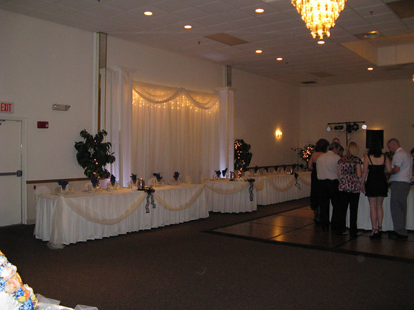 Backdrops Head Tables Cake