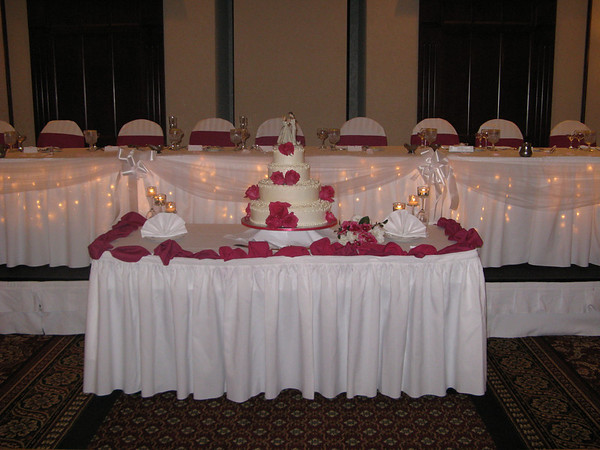 An Indoor Isle Table Decoration
